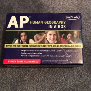 Kaplan human geography in a box